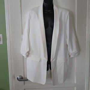 Calvin Klein Ivory Dress Jacket